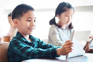 「学習を習慣づけるカリキュラムを採用」イメージ画像